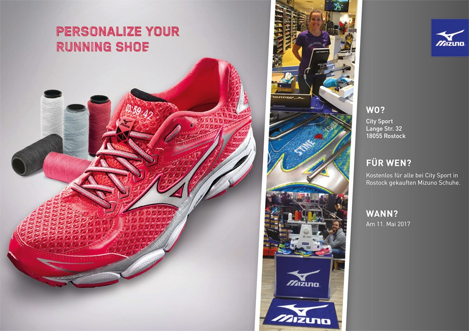 PERSONALIZE YOUR RUNNING SHOE
